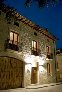 casa rural, Sierra de Prádena, fachada
